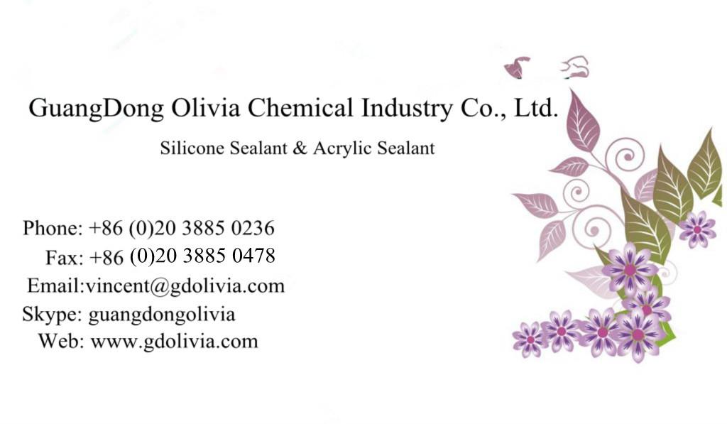 Good Seller OLV168 100% RTV Acetoxy Silicone Sealant