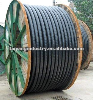 4 núcleo 185mm2 de cobre do fio de aço blindado cabo de alimentação/cabo de cobre