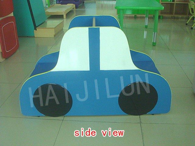 HAJILUN children library furniture car shape wooden bookshelf HJL-CG010