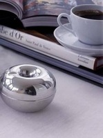 Пепельница Carl Mertens, Germany, Denmark Silver Apples of the ignition bar + stainless steel ashtray, Christmas gift