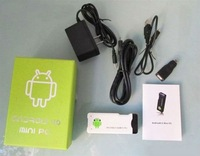 MK802 Android 4.0 Mini PC IPTV Google Internet TV Smart Android Box DDR3 1GB RAM 4GB ROM Allwinner A10 mk802 pc