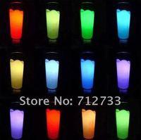 Аварийное освещение 1pc acrylic Romantic milk glass light New Gift White and Auto-changing colors