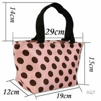 Сумка для путешествий 7 Styles Lunch picnic Carry Tote Bag Purse zipper organize Choose Yours