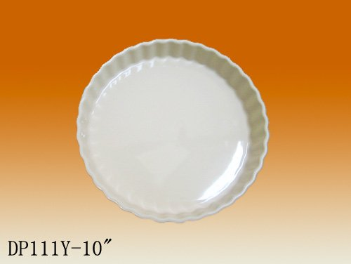 Factory direct wholesale colorful ceramic pizza plates