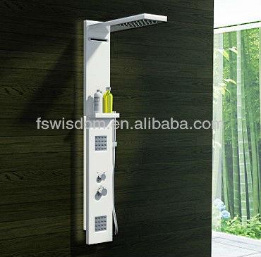 solide surface robinet de douche colonne wd0032 robinet bain douche id de produit 519256327. Black Bedroom Furniture Sets. Home Design Ideas