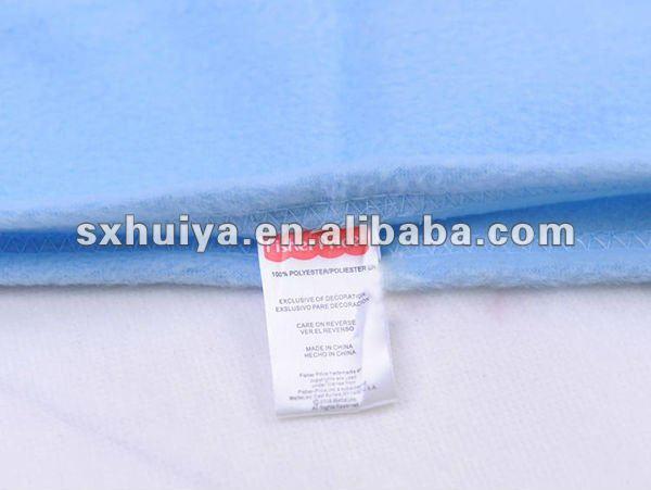 200 gsm red micro fiber polar fleece blanket