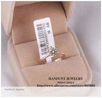 Кольцо HANFUNT R014 18 K 6 1ct 6 CZ