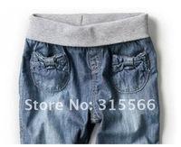 Джинсы для мальчиков 2012 new Factory outlet jeans children jeans boy jeans 100% cotton 4M-4 yrs pants wear blue