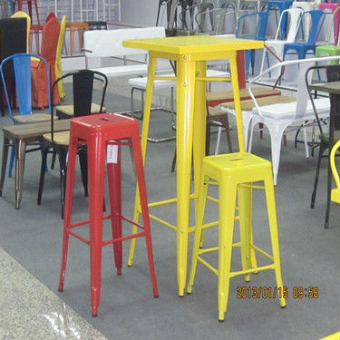 Sheet Steel Marais Bar Stools.