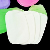 Мыло OEM ,  20pcs/lot paper petals shape soap