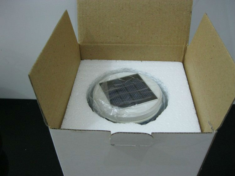 Solar step light+Cold white & Warm white color optional.