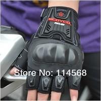 Перчатки для мотоциклистов 2013 Scoyco MC12D Motorcycle Half Finger Summer High Protective Shell Racing Gloves Motorbike Riding Accessories