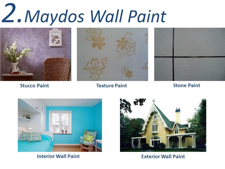 Maydos Low VOC Acrylic Emulsion Paint Interior Wall Paint