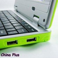 Ноутбук Hot sales 7 inch mini laptop computer 256M RAM 2G flash Wifi Optional color