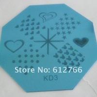 Free shipping - stamping nail art image plate KD series