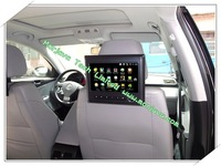 "GPS-навигатор Car&Home Use 9"" headrest android car pc CPU 1Ghz with WIFI 3G E-book Game HDMI output RMVB/RM/AVI HD 1080p"