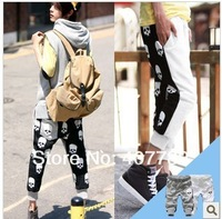 Мужские штаны mens 2013 fashion skull print best selling mens sport pants trousers males summer jogging pants trousers
