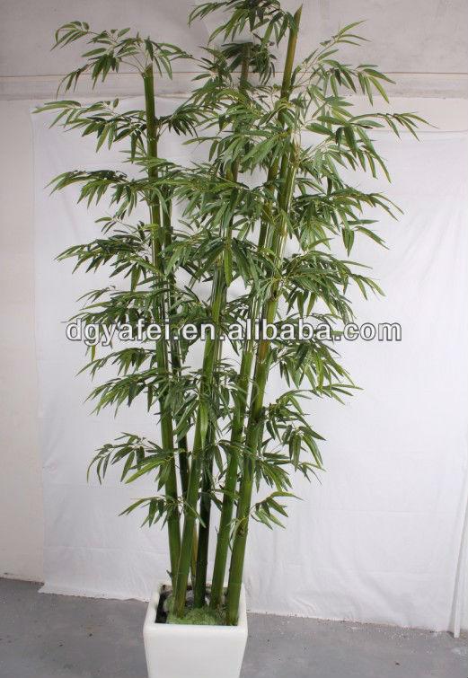 Faux bambou arbre tronc naturel foire de canton - Bambu cuidados en maceta ...
