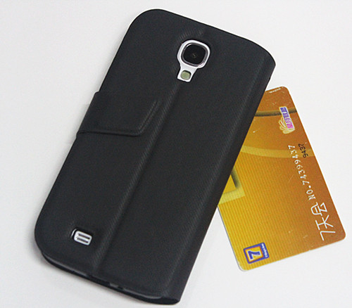 Hot Fashion Style Smart Wake View PU Leather Case Cover For Samsung S4 SIV i9500