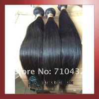 Волосы для наращивания Nature 100% 1b #, /4 /400  straight004