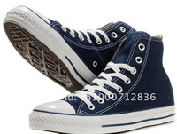 Мужские кроссовки blue high canvas shoes with cheaper price