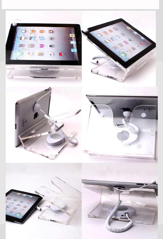 Titular de exibição de segurança para tablet