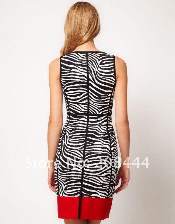 Zebra Stripe Prom Dresses 121