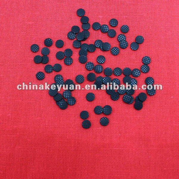Silicone conductive carbon pill