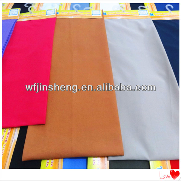 Top quality 100% cotton twill fabric for short pants