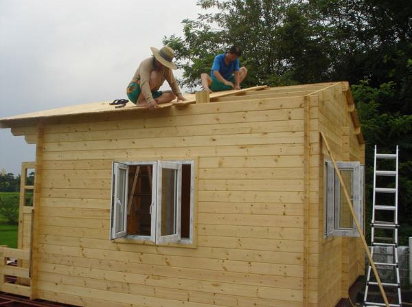 Supply Wooden Villa Log Cabin Home Customizad Supply