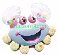 Детская погремушка Retail Cute Crabs Style Plastic Baby Rattles Toy