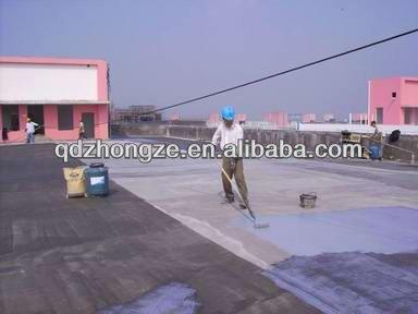 Double component polyurethane roof waterproof coating/Basement Polyurethane Waterproof Materials