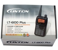 Рация linton6100plus uhf or vhf portable ham two way radios station with earpiece for kenwood walkie talkie connector 5w range