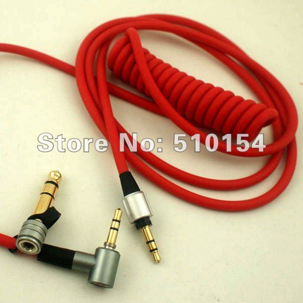 Hot Selling 3.5mm to 6.5mm Replacement PRO/Detox Headphone Audio Cable