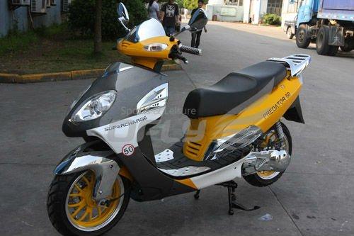 EEC Approved Gas Motor Scooter MS1273EEC