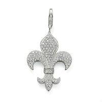 ts824, праздник, популярные Серебряный крест кулон, подходят высочайшего качества серебра ожерелье и браслет, ювелирные изделия