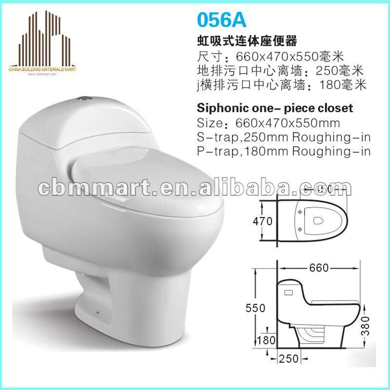 Baño Quimico Medidas:Qualidade higiênico vaso sanitário wc portátil móvel 0258-Vasos