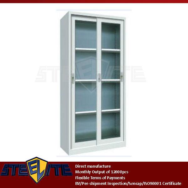 4 layer sliding glass door bookshelf cabinet 2014 full for Door design lab