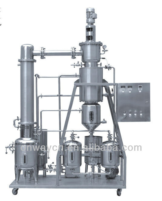 TFE high efficient energy saving rotary vacuum evaporator