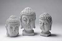 Сушилка для обуви The new environmentally friendly cement material Chinese Buddha head ornaments / Home Furniture accessories / soft furnishings m