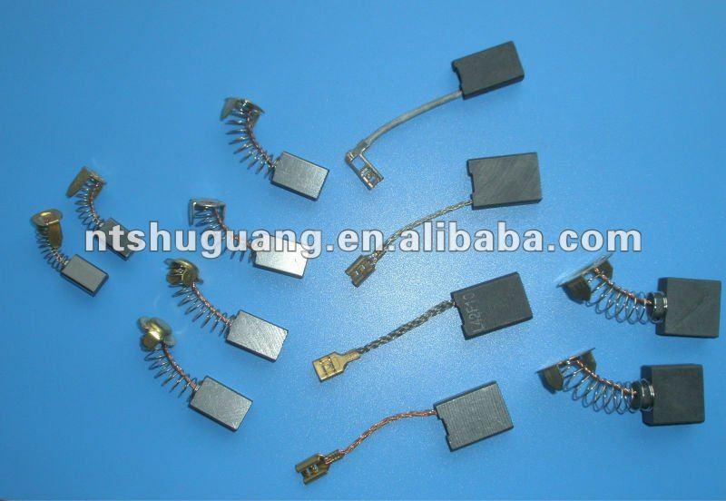 Pair of Carbon Brushes for Hitachi SP 13 SV 12 TR-6 TR-6A VR-16 VRT-22 VRT-22A