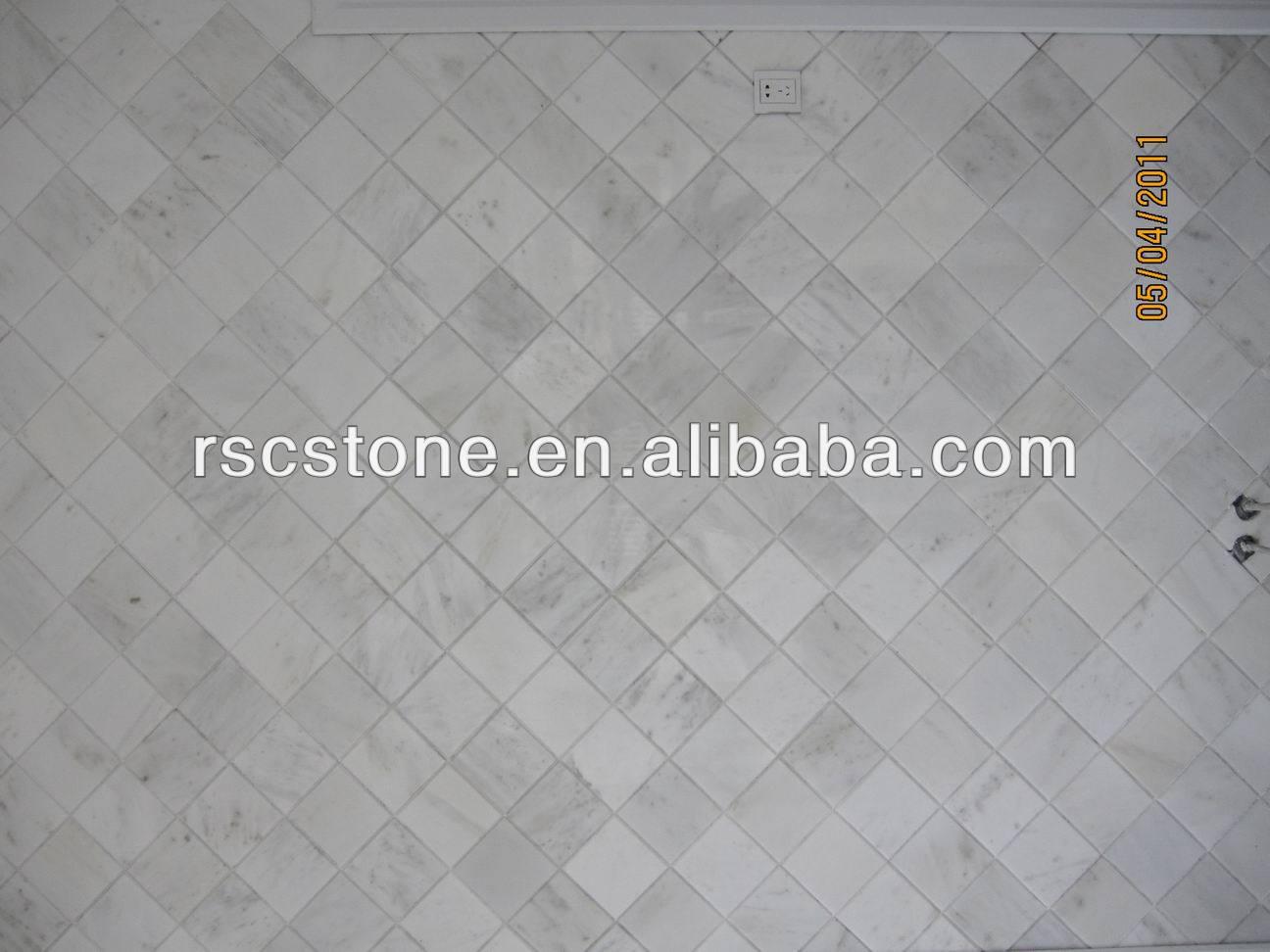 Ventajas para baldosas de mármol blanco losas para el diseño de