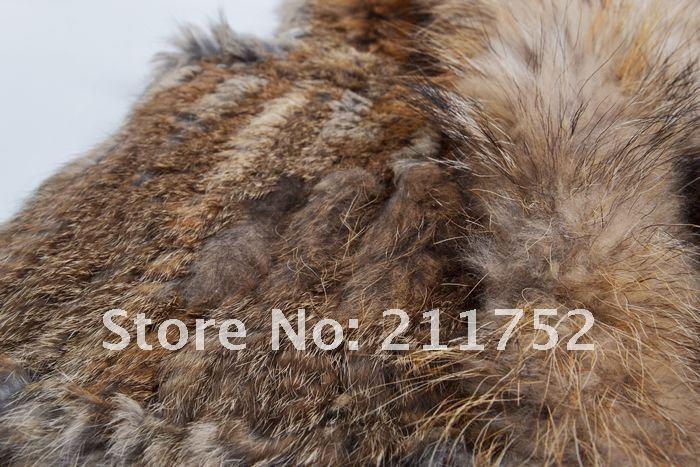 איכות גבוהה חמה המכירה הקמעונאי/סיטונאי כלב דביבון פרווה צווארון נשים סרוגים טבעי ארנב אפוד פרווה גילט/הז ' קט