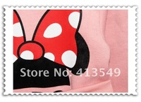 new year  wholesale girls suit Kids thick clothes Mickey mouse minnie set children clothing 5set/lot   in stock