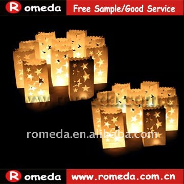 2012 the best fashion colored luminary candle bags