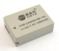 Аккумулятор DSTE 7.4V 1400mAh NB /10 L NB10L Canon SX40 HS NB-10L