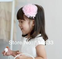 Детский аксессуар для волос New children's hair hoop jewelry pink flowers tire gifts for children