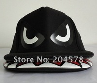 Одежда и Аксессуары Super cool shark mouth, four color, hiphop hats, flat caps along
