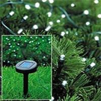 Рождественские огни rgb фонарик солнечной энергии 50 белый светодиод световых трубок Канат открытый Крытый, праздник Рождество