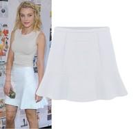 Женская юбка S M L XL XXL High quality New Fashion Women OL Black/Blue/Yellow Chiffon Short Skirt Short Dresses